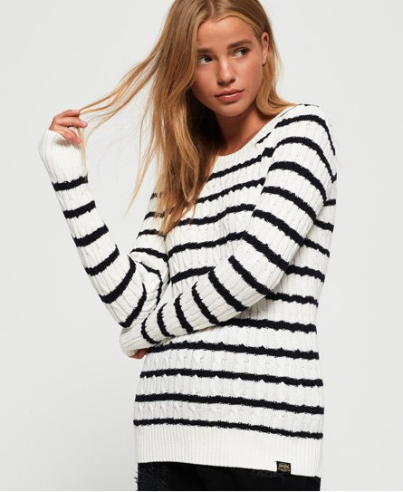 Superdry Croyde Bay Cable Knit Jumper