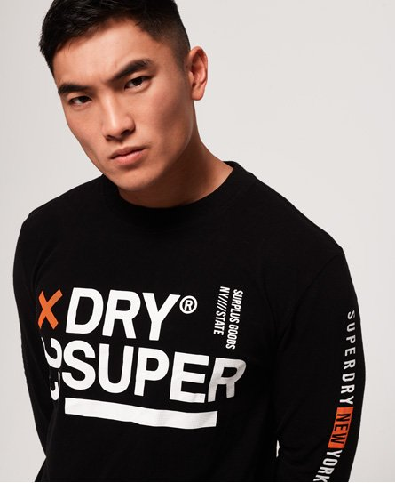 Superdry Surplus Goods Oversized Long Sleeve T-Shirt