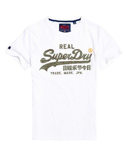 Superdry Vintage Logo Camo Infill T-Shirt