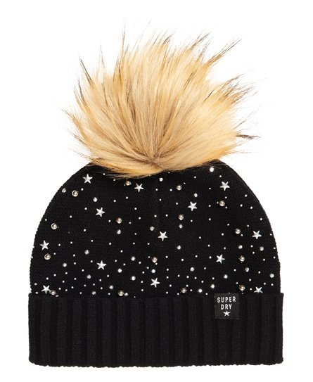 Superdry Rock Diamante Beanie