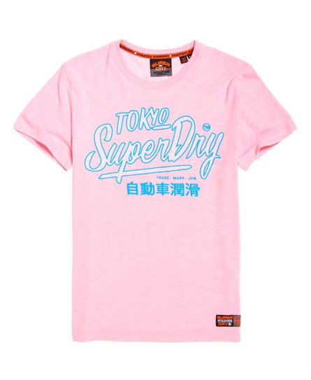 Superdry Ticket Type Pastel-T-skjorte