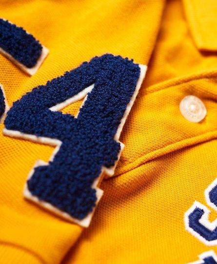Superdry Oldskool Superstate Pique Polo Shirt