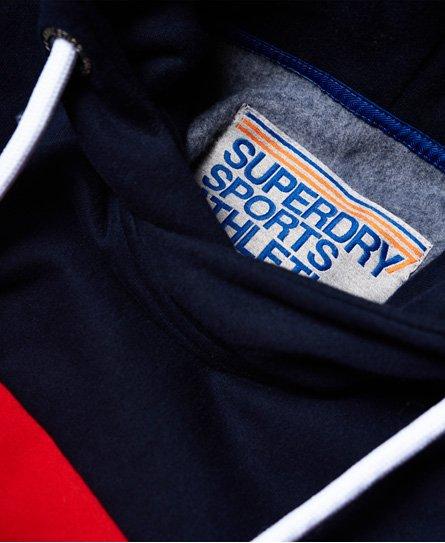 Superdry Trophy Track Hoodie mit Mikro-Print