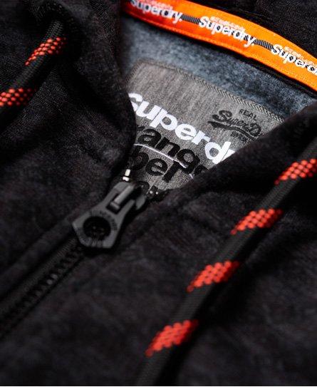 Superdry Orange Label Urban Panel Zip Hoodie