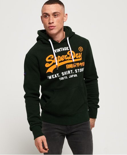 Superdry Sweat Shirt Shop Duo Hoodie