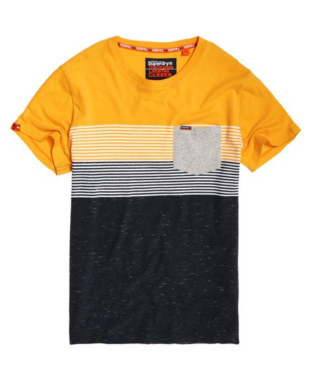 Superdry Miami Stripe Pocket T-Shirt