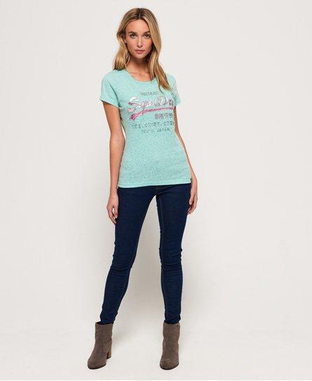 Superdry Shirt Shop Infill T-Shirt mit Prägung
