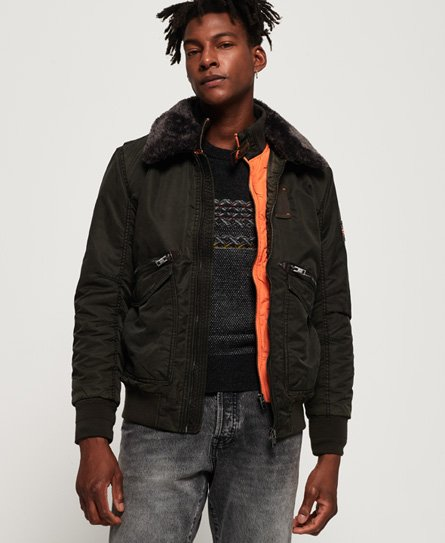 Winter Hercules Bomber Jacket