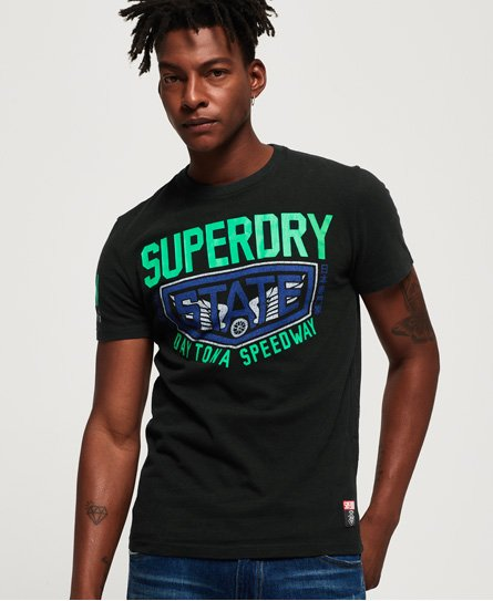 Superdry Jackson stor T skjorte Dame Skjorter