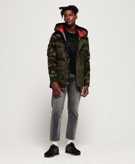 Superdry Rookie Camo Mix Parka