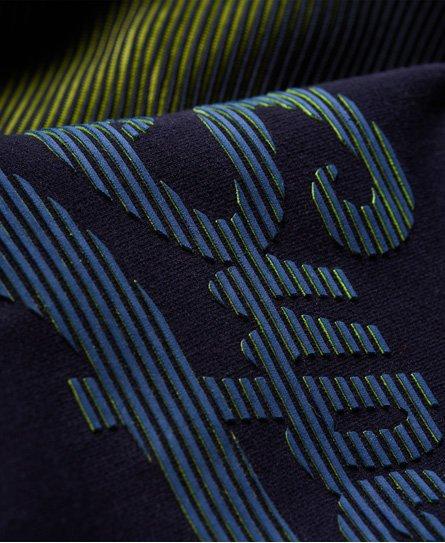 Superdry Sudadera con capucha y manga ranglán con logo Vintage