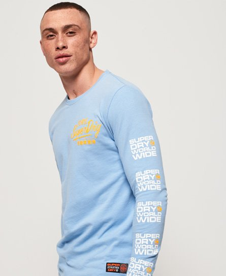 Superdry T-shirt à manches longues pastel Ticket Type