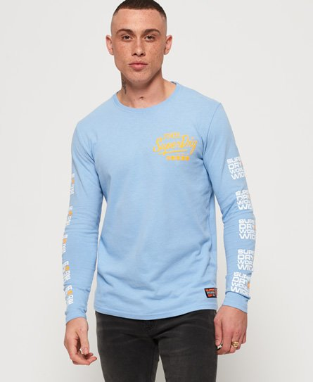 Superdry Ticket Type Pastel Long Sleeve T-Shirt