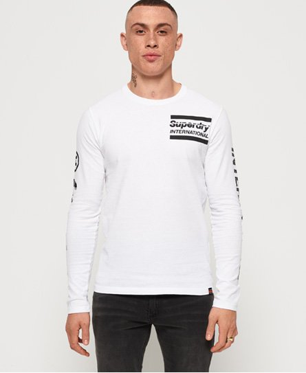 Superdry T-shirt monochrome à manches longues International