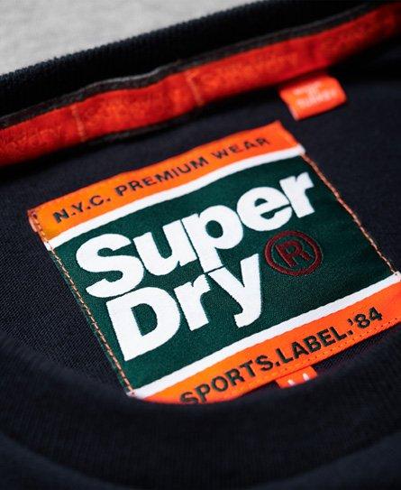 Superdry Applique Cut & Sew Long Sleeve T-Shirt
