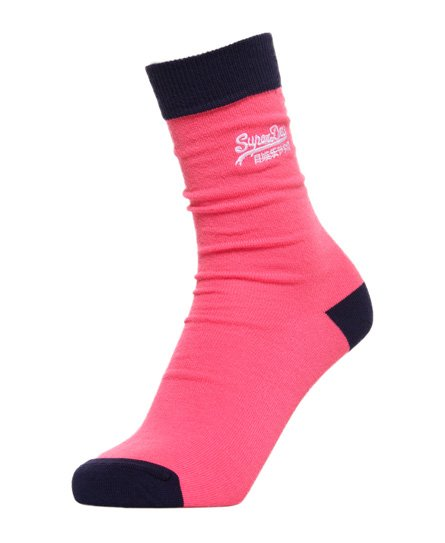 Superdry Heart Pop Socks Triple Pack