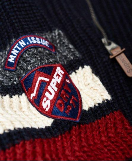 Superdry Pull henley Ski Dog