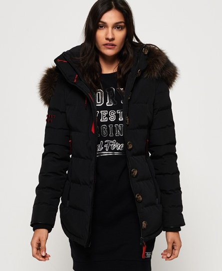 Superdry Premium Trophy Alps dunjacka Tjejer Sale View All