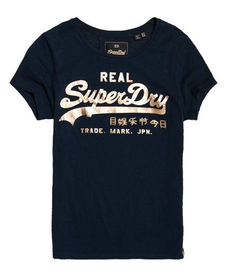 Superdry T-shirt con logo Vintage Metalwork