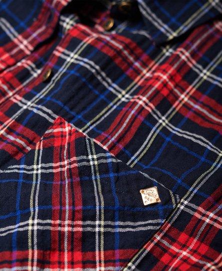 Superdry Seersucker lichtgewicht overhemd