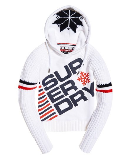 Superdry Winter Sports Crop Hoodie