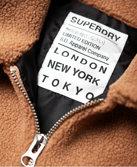 Superdry Sherpa Zip Through