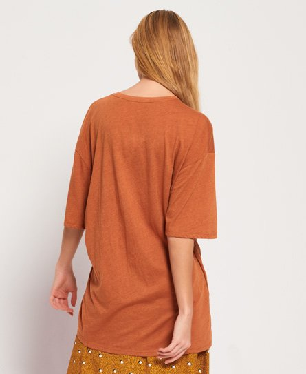 Superdry T-shirt Carmel Distorted