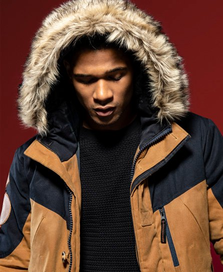 Superdry Wax Edition Everest Parka