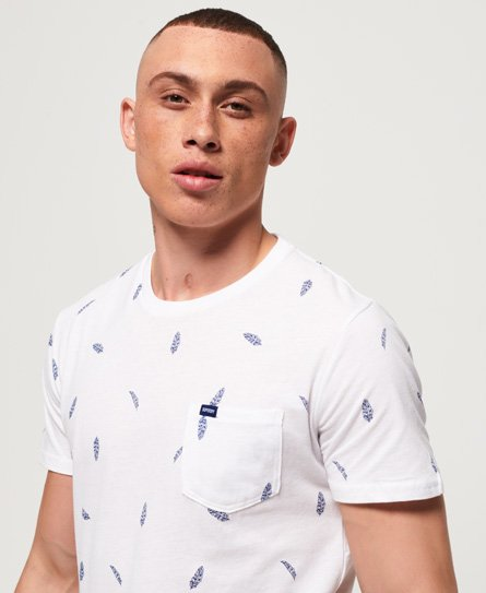 Superdry All Over Print Lite Pocket T-Shirt