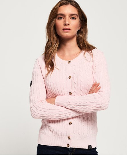 Croyde Bay Cable Knit Cardigan