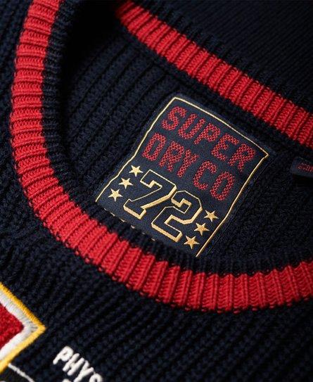 Superdry Superdry Varsity Ribbed Jumper