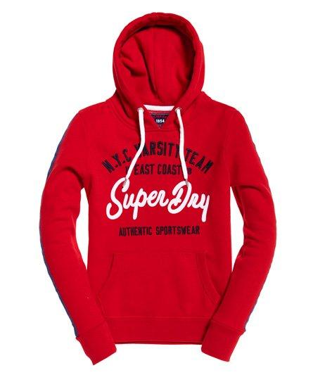 Superdry NYC Varsity Embroidery Hoodie