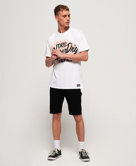 Superdry Ticket Type oversized T-shirt