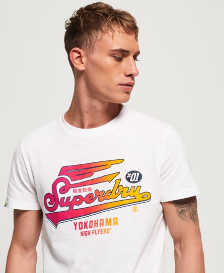 Superdry T-shirt High Flyers Hyper Classics