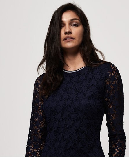 Superdry Imogen Star Lace -mekko