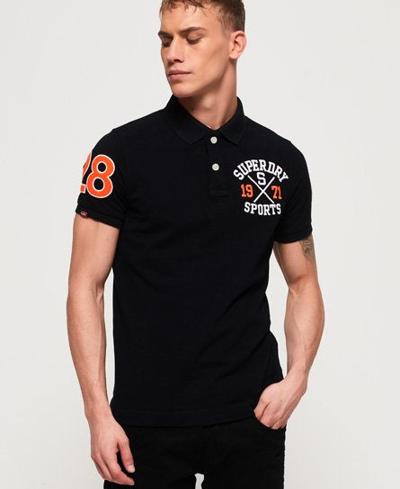 54527468dbeec9 Men's Polo Shirts | 2 for £55 | Long & Short Sleeve Polos | Superdry