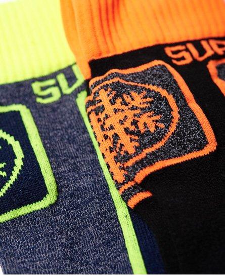 Superdry Duopak Merino Snow sokken