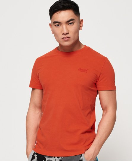 Superdry T-shirt Lite Orange Label