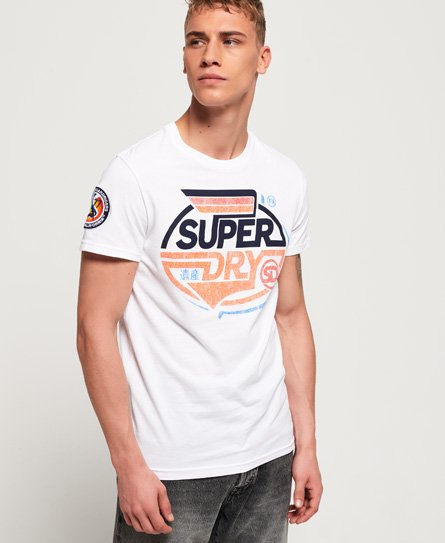 Superdry T-shirt semi-épais Malibu Racer