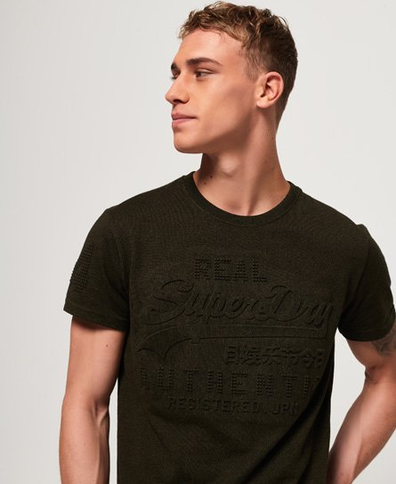 Superdry T-shirt Vintage à logo en relief Authentic