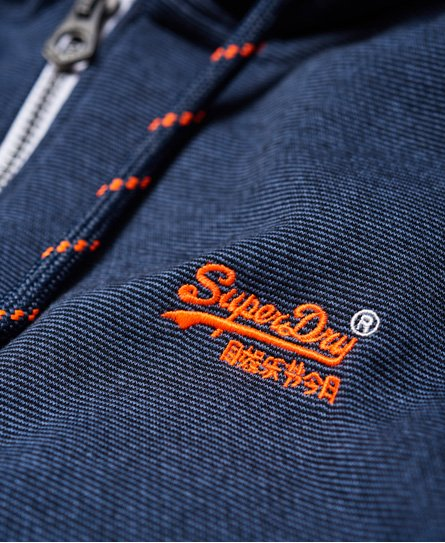 Superdry Veste à capuche zippée Orange Label