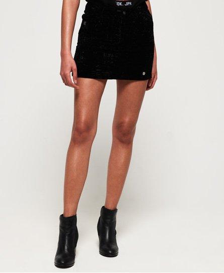 Leonie Velvet Skirt