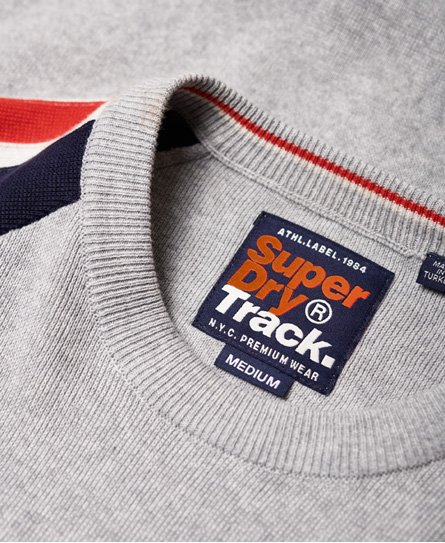 Superdry Pull à col rond Sport Track