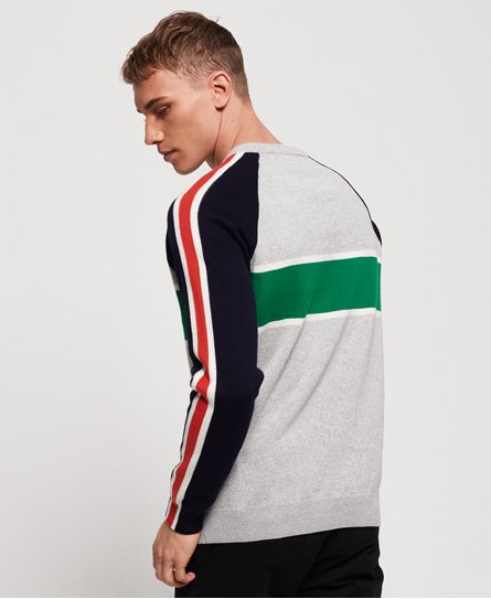 Superdry Sport Track Crew Neck Jumper