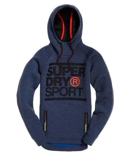 Superdry Gym Tech Stretch Graphic Hoodie