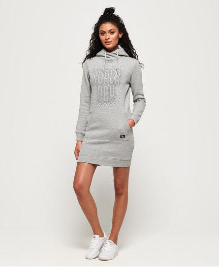 Superdry Deakin Embellished Sweat Dress
