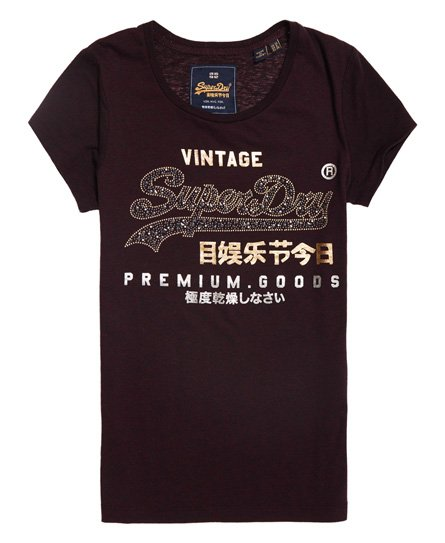 Superdry Premium Goods Star Stud T-Shirt
