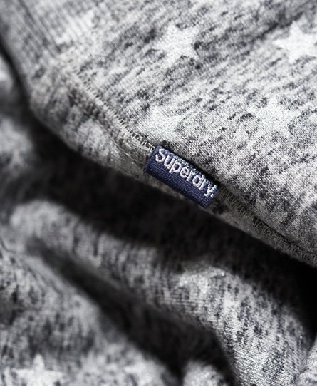 Superdry Vintage Logo Star All Over Print Hoodie