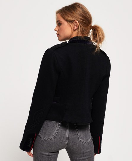 Superdry Cropped Duchess Wool Jacket