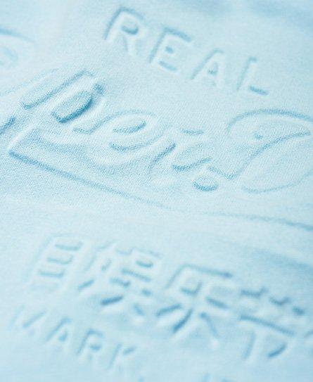 Superdry Pastelfarvet Vintage Logo hættetrøje med præg